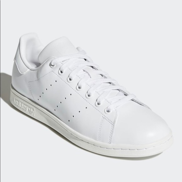 new concept af5ac 6aec6 Adidas Triple White Stan Smith Sneakers